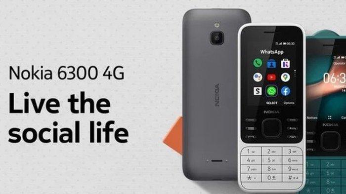 Muncul Lagi Nokia 6300 dan Nokia 8000, Baterai Tahan 27 Hari, Spesifikasi Lebih Modern, Ini Harganya