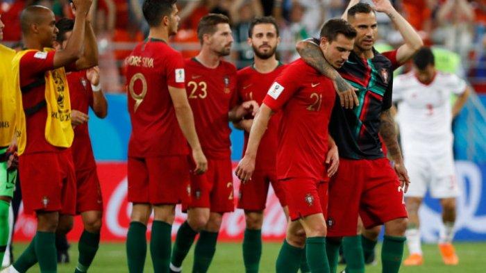 Cristiano Ronaldo Gagal Eksekusi Pinalti, Iran Berhasil Mengimbangi, Ini Lawan Portugal Selanjutnya