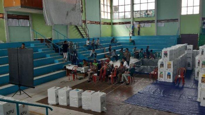 Jajaran PPK KPU Kabupaten Belitung Terapkan Sistem Panel Rekap Penghitungan Suara