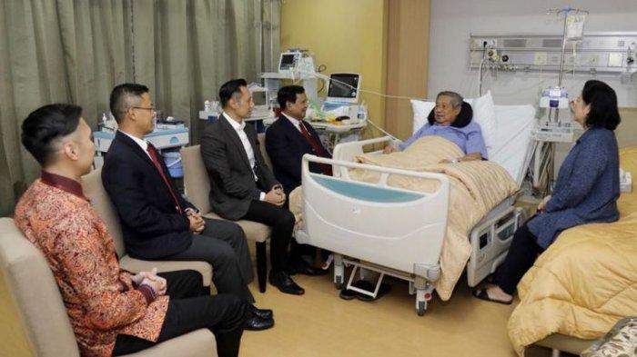 Beda Banget Cara SBY Teriima Prabowo dan Jokowi, Posisi Duduk AHY Berdampingan Saat Bicara