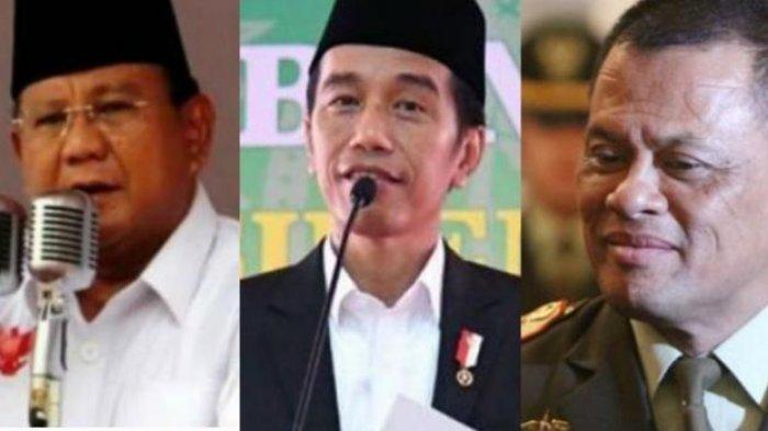 Survei Litbang Kompas: Elektabilitas Jokowi Melejit, Prabowo Turun, Gatot Urutan Tiga