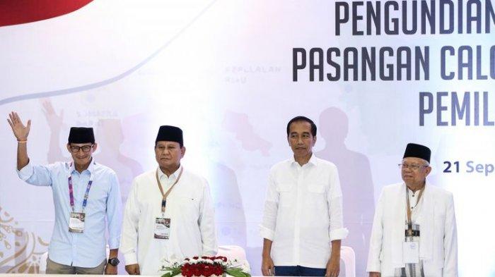 LSI: Jokowi-Prabowo Bersaing Ketat Raih Suara di Pulau Sumatera