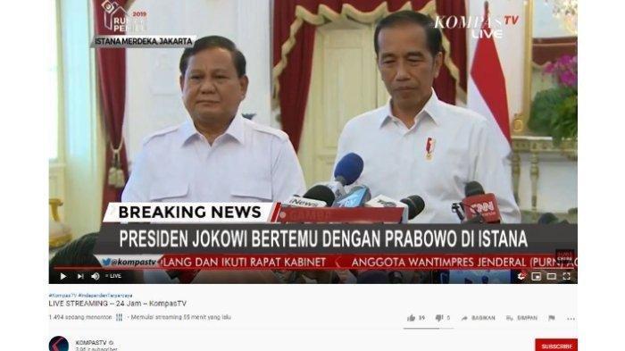 Bertemu di Istana, Prabowo dan Jokowi Bahas Ibu Kota Baru hingga Koalisi Partai Gerindra