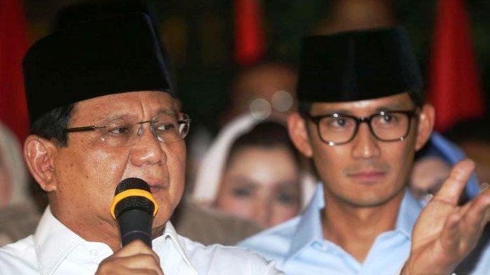 Peluang Prabowo Menang Pilpres 2019 Masih Terbuka, Begini Itung-itungannya Menurut Pengamat Politik