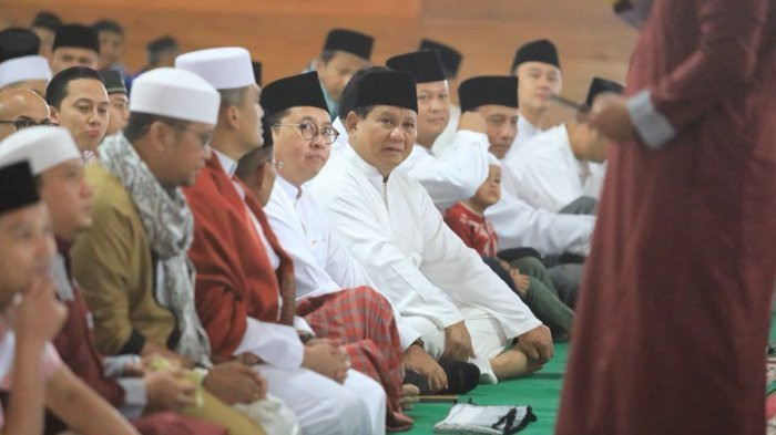 Ketika Jokowi dan Prabowo Halal Bihalal dengan Warga, Lihat Fotonya! Jamu Tukang Becak di Istana