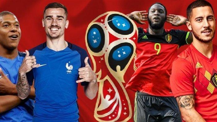 Semifinal Piala Dunia 2018 - Prancis Vs Belgia, Gol Pembuka Bakal Jadi Penentu Kemenangan?