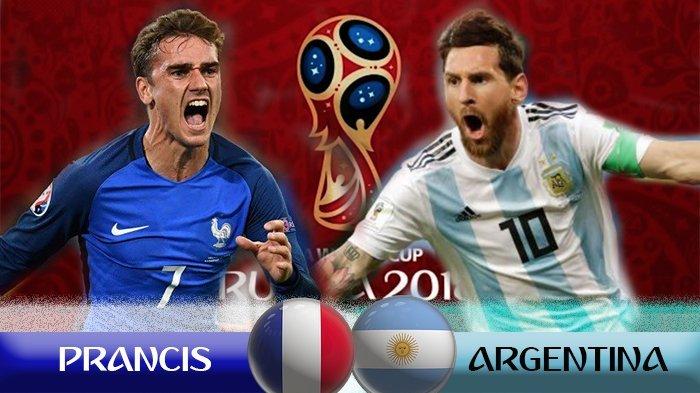 Empat Gol Tercipta di Babak Kedua Dalam Tempo 20 Menit, Prancis Sementara Unggul 4-2