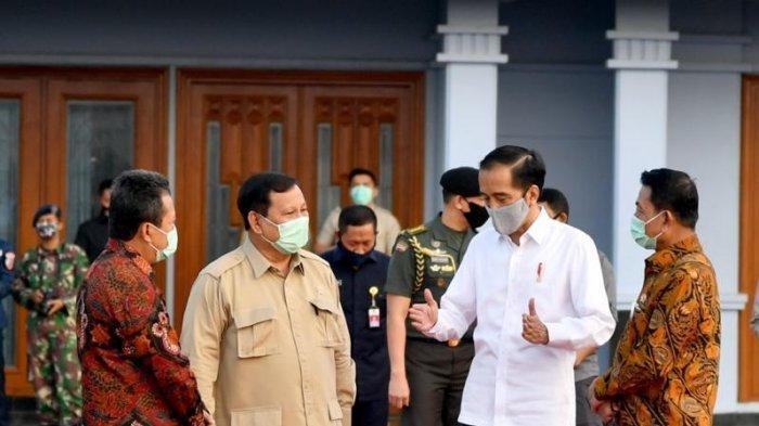 Begini Penjelasan Jokowi Terkait Tunjuk Prabowo Pimpin Proyek Lumbung Pangan di Kalteng