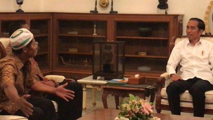Pemilik Warung Kopi dan Mie Rebus Korban Penjarahan 22 Mei Ini Menangis Saat Bertemu Presiden Jokowi
