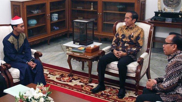 Juara MTQ Internasional Syamsuri Firdaus Mengaku Sedih Setelah Bertemu Jokowi, Ini Penjelasannya