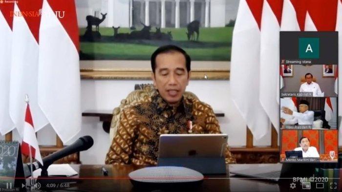 Jokowi Tetapkan Penerapan Pembatasan Sosial Berskala Besar Atasi Corona