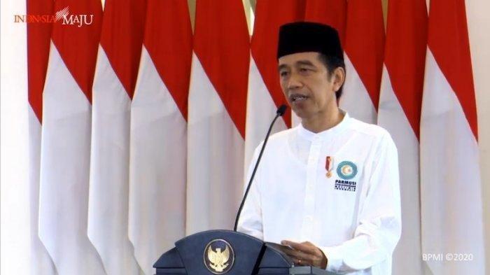 Jokowi Ajak Umat Muslim Banyak Bersedekah Untuk Bantu Sesama di Tengah Pandemi Covid-19