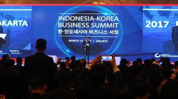 Jokowi Ajak Pengusaha Korea Investasi di Bidang Kreatif dan Pariwisata