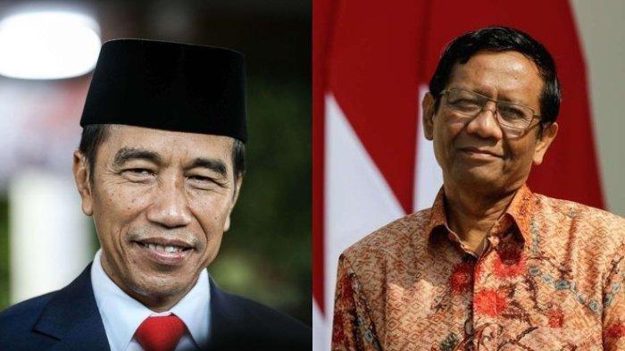 Jokowi dan Mahfud MD Kompak Minta Publik Percaya pada Lembaga Hukum Negara Soal Kasus Novel