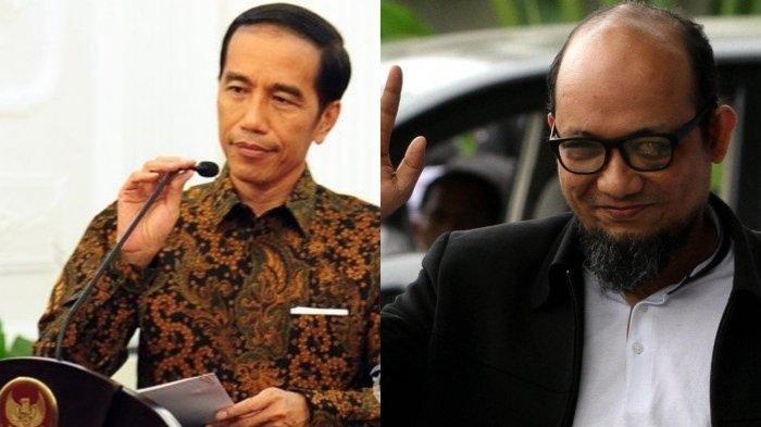 Jokowi Minta Kapolri Selesaikan Kasus Novel Baswedan: Kalau Saya Bilang Secepatnya Berarti Harian