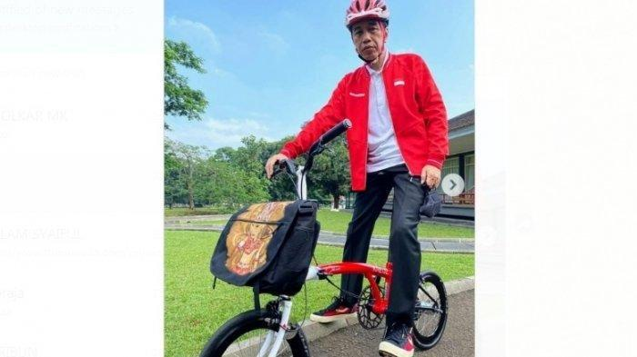 Jokowi Ikut Beli Kreuz Asal Bandung, Sepeda Lipat Kreuz Kebanjiran Produksi hingga September
