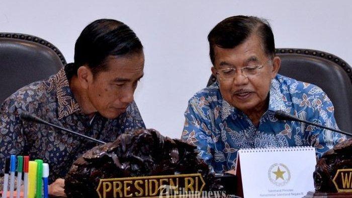 Presiden Jokowi Tolak Usulan Jusuf Kalla untuk Lakukan Hal Ini saat Merebaknya Virus Corona