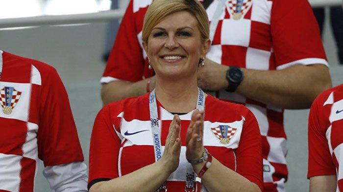 Kolinda Grabar-Kitarovic Presiden Wanita Pertama Kroasia, Pintar, Cantik, Magnit Piala Dunia 2018