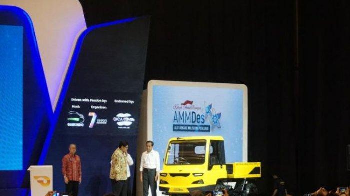 GIIAS 2018 Resmi Dibuka, Jokowi Lihat Mobil Baru