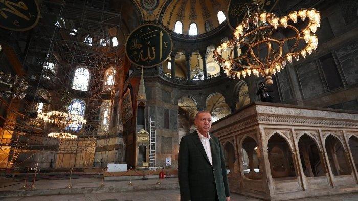 Setelah Hagia Sophia, Presiden Turki Recep Tayyip Erdogan Ubah Museum Kariye Menjadi Masjid