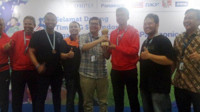 Liga Kompas Gramedia Raih Prestasi Empat Besar kategori Boys 15