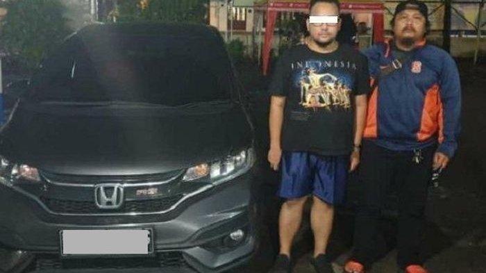 Pria ini Nekat Curi Mobil Honda Jazz, Ketahuan Gegara Lupa Tinggalkan Istrinya di TKP, ini Videonya!