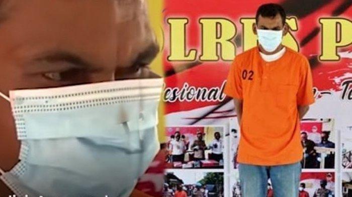Armia bin Ismail (39), pelaku pemerkosaan 4 orang wanita di Pidie, Aceh. Satu orang korban sampai tewas akibat diperkosa pelaku