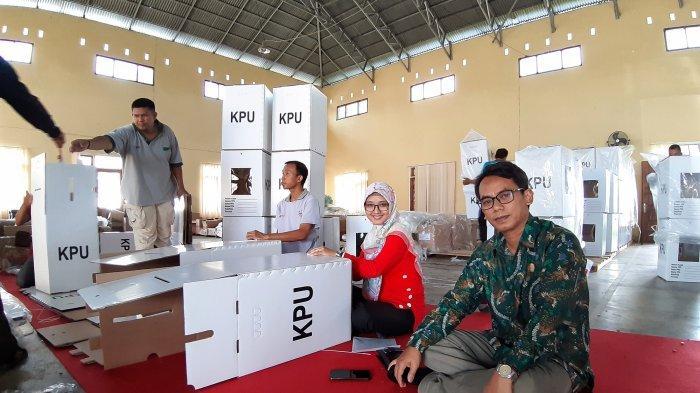 KPU Beltim Targetkan Perakitan Kotak Suara Selesai Seminggu
