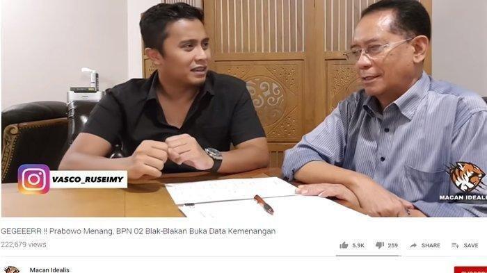 Tokoh di Balik Klaim Kemenangan Prabowo-Sandi 62 Persen Terungkap, Ini Penjelasannya