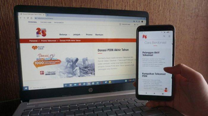 Telkomsel  Ajak Pelanggan Donasi 1.000 Paket Sembako bagi Kaum Dhuafa di Sumatera, Begini Caranya