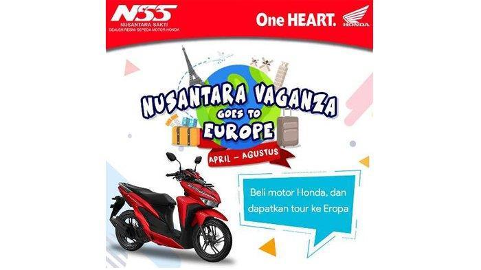 Nusantara Sakti Vaganza Beri Hadiah Menarik hingga Kehadiran Produk Terbaru Motor Honda Genio