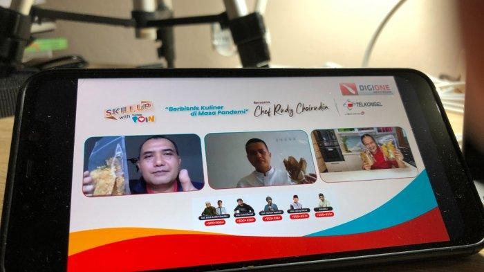 Program Skill Up with Telkomsel POIN Ajak UMKM Makin Kreatif Manfaatkan Peluang Bisnis Kuliner