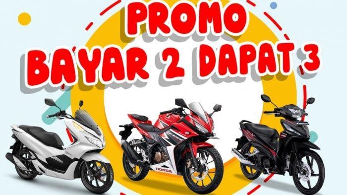 Heboh, Beli Motor Honda Dapat Gratis Oli Selama Setahun di Honda NSS Tanjungpandan