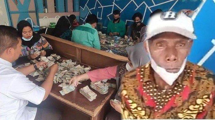 Kakek Viral di Payakumbuh, Simpan Uang Berkarung-karung, Berserakan di Lantai Hingga Kasur