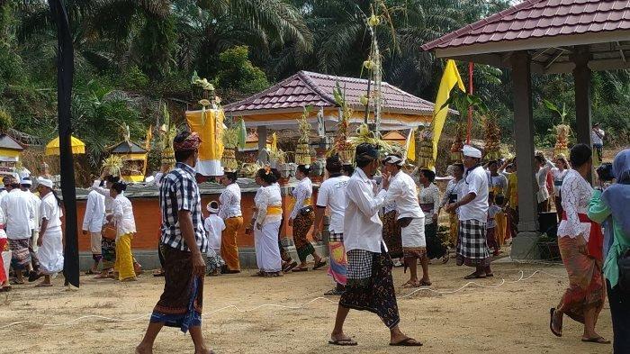 Antisipasi Wabah Corona, Umat Hindu Dusun Balitung Tak Adakan Prosesi Jelang Nyepi