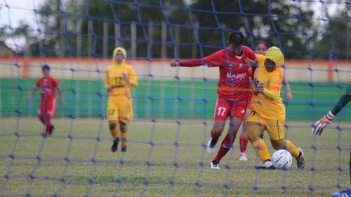 Pesta Gol Lawan PS Bengkulu, Pelatih PS Babel Putri: Jangan Cepat Puas