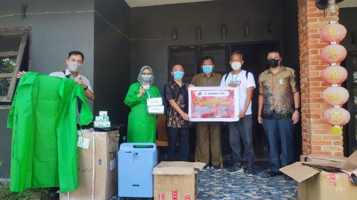 PT Rebinmas Jaya Peduli Penanganan Covid-19, Beri Bantuan ke Pusat Pemulihan dan Karantina Mandiri