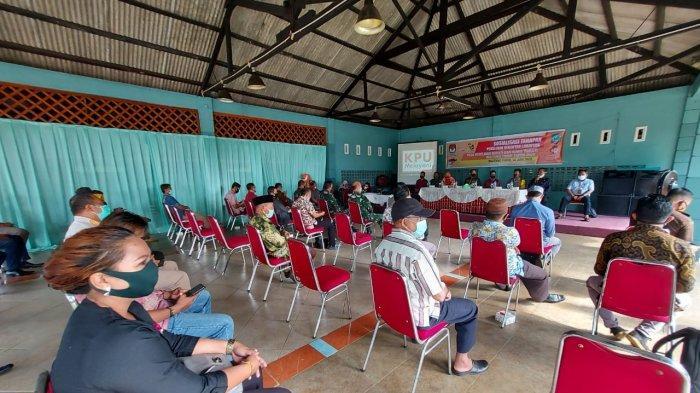 KPU Belitung Timur Sosialisasikan Tahapan Pilkada Serentak Lanjutan, Ini Perbedaan dari Sebelumnya