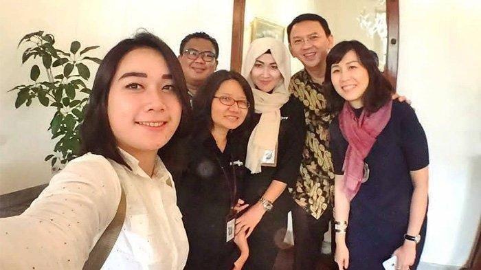 Video Sosok Misterius Saat Ahok BTP & Puput Nastiti Devi Makan Semeja Beredar, Bersama Veronica Tan?