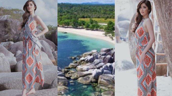 Puteri Indonesia 2018 Foto di Pantai Tanjung Tinggi, Belitung dan Kamu Sama-sama Cantik
