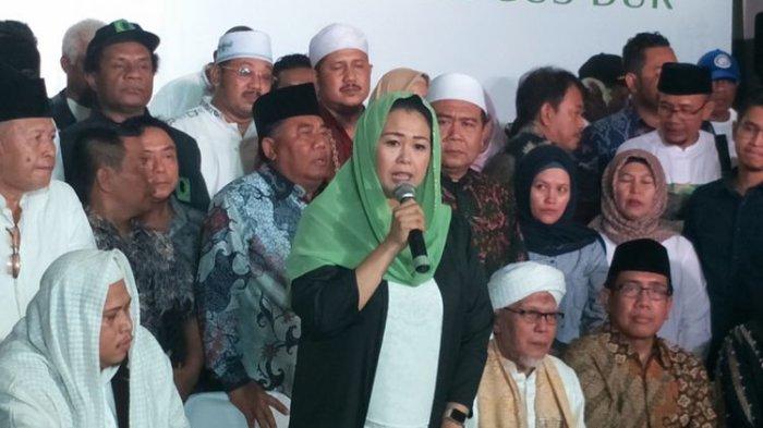 Yenny Wahid Umumkan Keluarganya Dukung Jokowi-Ma'ruf Amin
