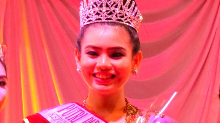 Bella Arista Terpilih Putri Pariwisata Bangka Belitung 2016