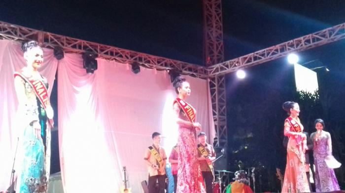 Cintia Dan Bella Lolos Tiga Besar Final Putri Pariwisata Bangka Belitung 2016
