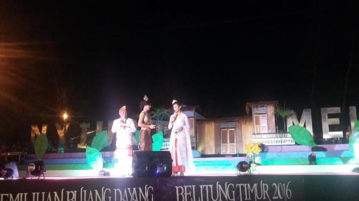 Putri Pariwisata Indonesia Dikna Faradiba Senang Melihat Antusiasme Warga Belitung Timur