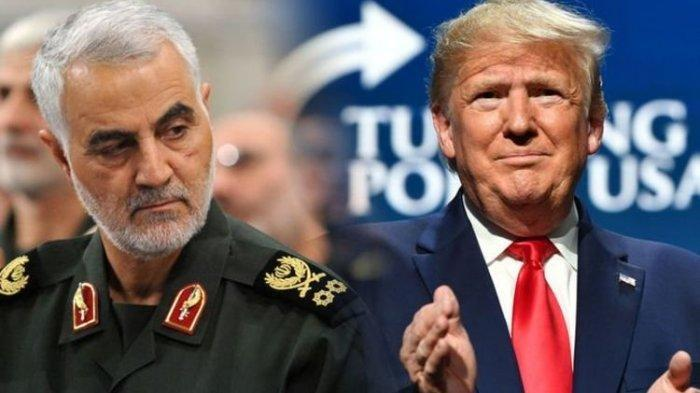Ternyata Tak Mudah, Trump Perintahkan Bunuh Jenderal Iran untuk Hentikan Perang, Malah ini Terjadi