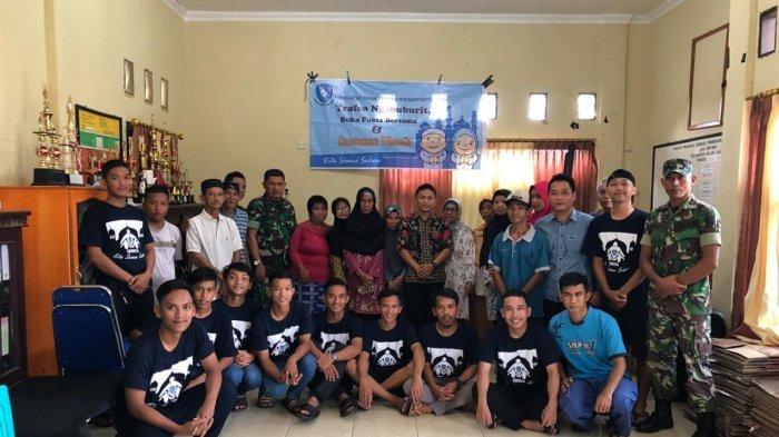 Penghujung Ramadan Qoreka FC Berikan Sembako