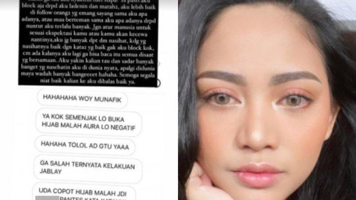 Setelah Sukses, Selebgram Cantik Ini Putuskan Lepas Hijab, Curhat Banyak di DM Kata-Kata Kasar