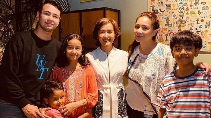 Raffi Ahmad Semangati Anak-anak Dwi Sasono: Om Pernah Kena Musibah