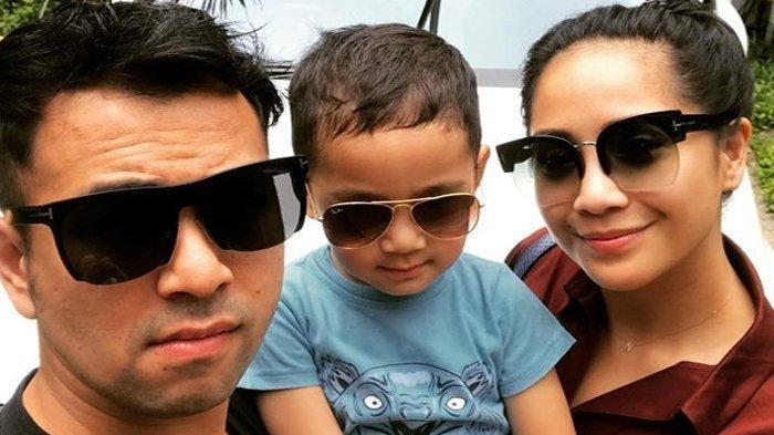 Baim Wong dan Paula Verhoeven Kaget Lihat Reaksi Rafathar Bisa Lakukan Ini Meski Mata Terpejam