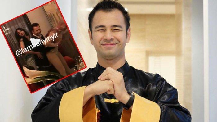 Cermati yang Dipegang Tangan Raffi Ahmad Saat Hadiri Pesta Ulang Tahun Jessica Iskandar